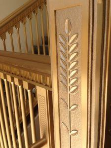 Bronze Railing Detail