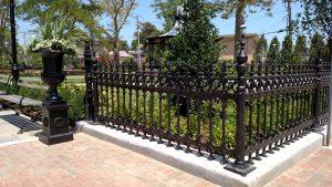 Cast Iron Fence Detail