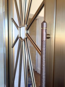 Custom Bronze Door and Hardware