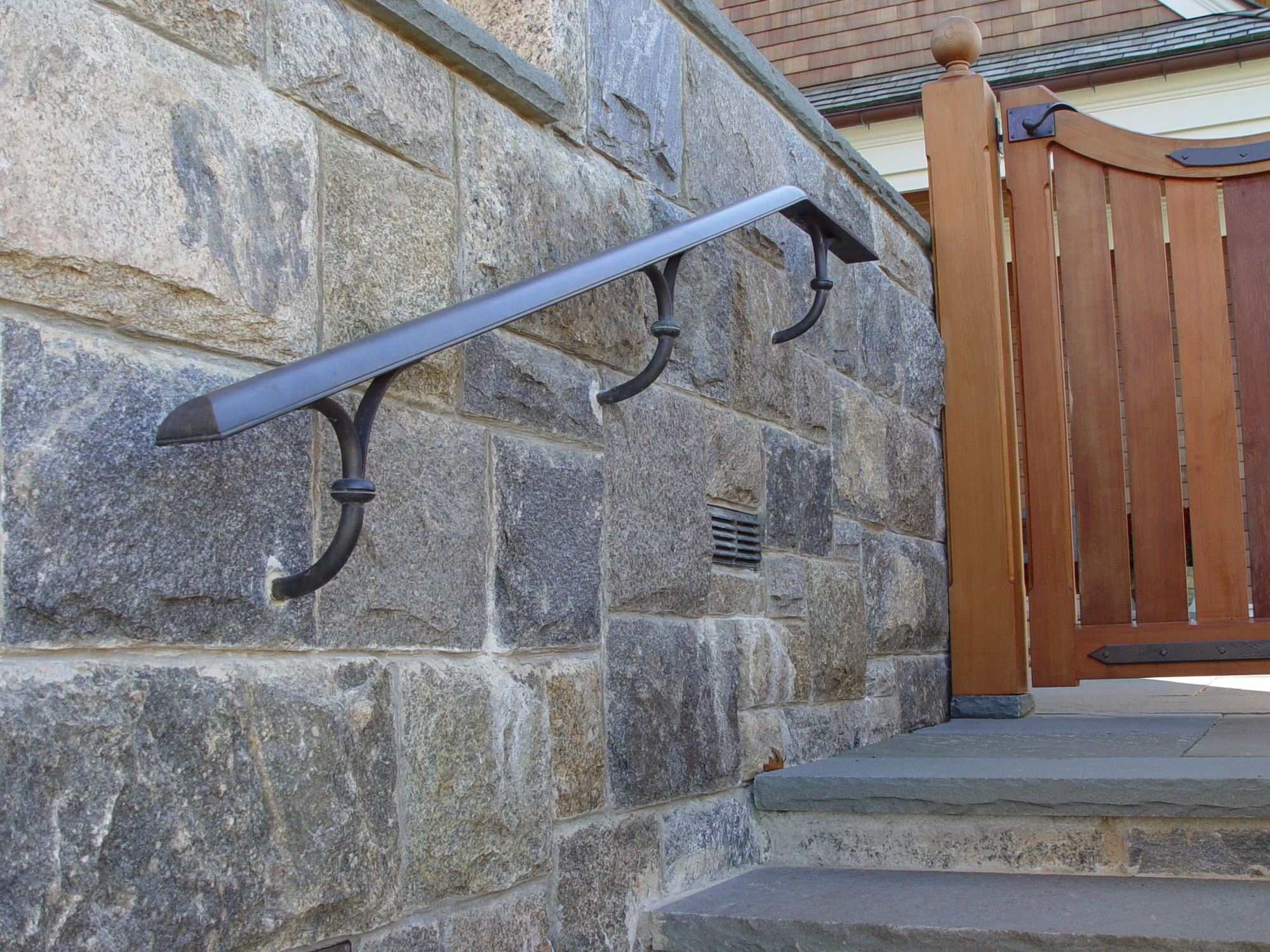 Architectural Metal Essentials: Brass and Bronze Handrails Explained